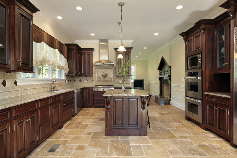 oak kitchen cabinets wholesale - Mahogany Kitchen Cabinets