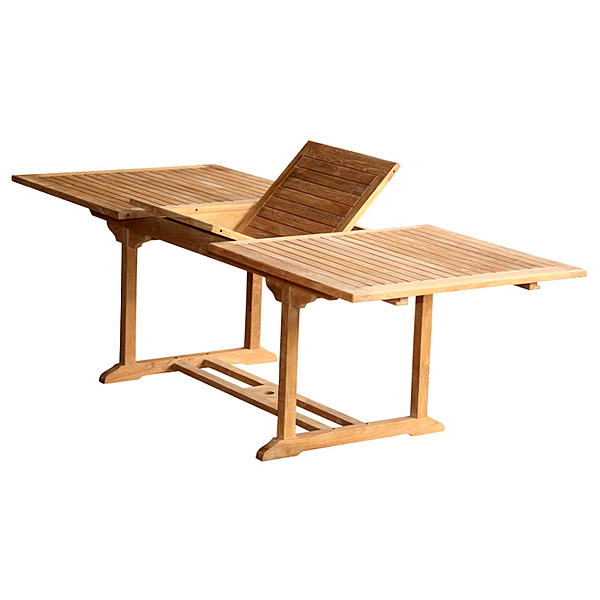 Expandable Outdoor Patio Table TOTXT Wholesale Outdoor Tables - Outdoor teak extension dining table