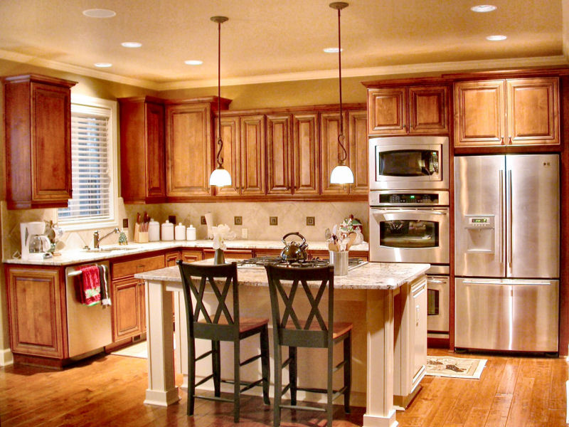 Cherry Kitchen Cabinets Custom Cabinets Wholesale